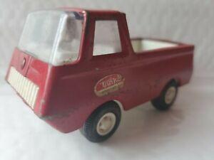 "1960's Vintage TINY Mini cab over TONKA Pick Up Truck Red 4.25"" x 2"" USA Sticker"