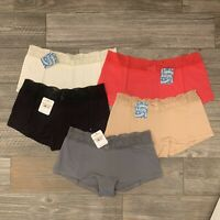 NWT Intimately Free People Cotton Medallion Boyshort Panties Undies XS S M L