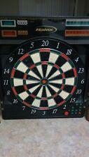 Halex Cabinet Style Electronic Dart Board wooden