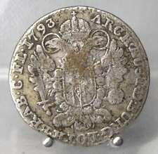 RRR!! 14 Liards 1793, Brüssel, Franz II., Silber