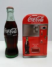 Coca-Cola Vending Machine Tin Bank - BRAND NEW
