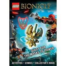Lego Bionicle: Quest for the Masks of Power by Ameet Studio (Firm) (Mixed...