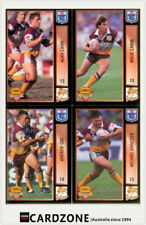 Brisbane Broncos Modern (1970-Now) Era Team Set NRL & Rugby League Trading Cards