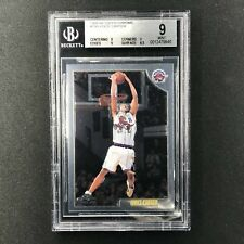 1998-99 Topps Chrome VINCE CARTER Rookie Card BGS 9 #199