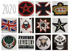 Embroidered Iron On / Sew On Patch Patches Badges Dress Jeans Tops Hat Backpacks