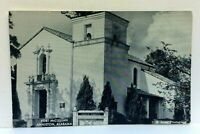 Anniston Alabama Fort McClellan Silver Chapel Photo US Army Vintage Postcard