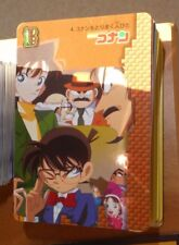 DETECTIVE CONAN ULTRA RARE CARDDASS CARD PRISM CARTE N° 4 MADE IN JAPAN 1996 NM