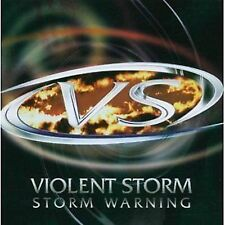 Violent Storm Storm Warning CD NEW SEALED 2006 Metal KK Downing/Yngwie Malmsteen