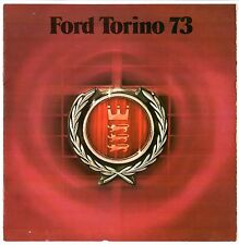 Ford Torino & Gran Torino 1973 Canadian Market Sales Brochure In French