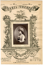 Lemercier et Cie, Paris-Théâtre, Catherine Jeanne Schneider dite Hortense Schnei