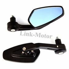 "MOTORCYCLE 7/8"" 1"" HANDLEBAR BAR END MIRRORS FOR TRIUMPH STREET SPEED TRIPLE R"