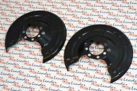 GENUINE Vauxhall ASTRA ZAFIRA COMBO MERIVA - PAIR OF REAR BRAKE SHIELDS NEW