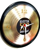 Led Zeppelin - 12 Inch Quartz Wall Clock / Free Priority Shipping