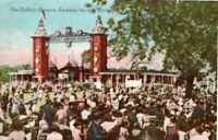 Vintage Postcard Canadian National Exhibition Toronto The Dufferin Entrance,