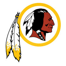 "Washington Redskins Decal Indoor - Outdoor - Car-  Truck - Window 4"" x 4.4"""