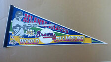 1991 Atlanta Braves Error World Series Champions Baseball Pennant Lost to Twins