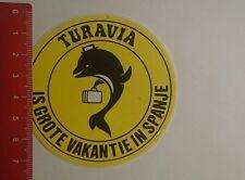 Aufkleber/Sticker: Turavia is grote vakantie in spanje (03011719)