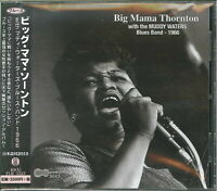 BIG MAMA THORNTON-WITH THE MUDDY WATERS BLUES BAND 1966-JAPAN CD F56