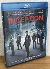 INCEPTION (Blu-Ray Disc, 2010) DISC & COVER ART ARE FLAWLESS- SEE PICS!