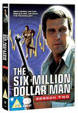 DVD:THE SIX MILLION DOLLAR MAN - SEASON 2 - NEW Region 2 UK