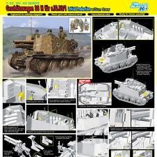 DRAGON 6857 Gershutzwagen 38 H with gun crew Smart Kit 1:35 Military Model Kit