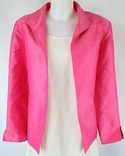 Anita Ford Pink Open Front Blazer Jacket Size Large