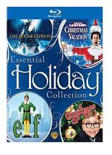 Christmas Vacation/Polar Express/ Elf/A Christmas Story (Blu-ray Boxset 2008 NEW