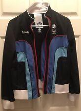 Olympic USA Torino 2006 Track Full Zip Jacket Size Large/ Roots