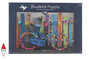 PUZZLE MEZZI DI TRASPORTO BLUEBIRD MY BEAUTIFUL COLORFUL BIKE 1000 PZ