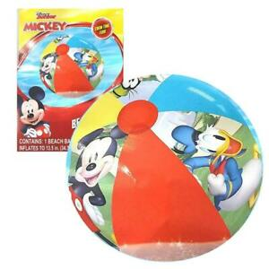 Disney Mickey Mouse Inflatable Beach Ball Donald Goofy Pool Water Fun Toy CHOP