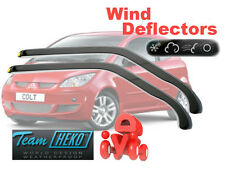 Mitsubishi Colt  2005 -  3.doors  Wind deflectors  2.pc  HEKO  23346