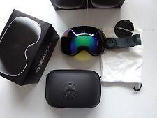 Dragon X2 Mason Grey Flash Green Polarized Snow Goggle NIB NEW LINE $269.99