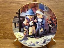 "M.J. Hummel Plate - Little Champions Collection - ""Tender Loving Care"""