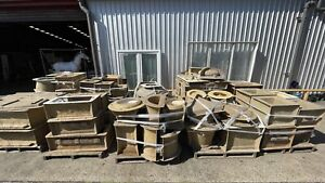 Concrete Fibreglass Outdoor pot Moulds Business Sold As A Job Lot 50+ Moulds