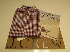 NWT AUTHENTIC J.CREW LUDLOW SHIRT IN BICOLOR GINGHAM/ Two-ply 120s cotton /Small