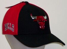Chicago Bulls New Era 2017 NBA On Court 39Thirty Flex Hat / Cap Size M/L