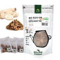 [Korean Herb Tea] Natural Roasted Lotus Root Tisane 볶은 연근차 티백  50g / 15 teabags