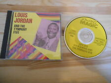 CD Jazz Louis Jordan - L.J. And The Tympany Five (17 Song) TOUCH OF MAGIC / SUBM