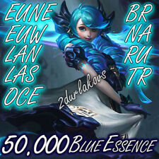 League of Legends 50.000❄️60.000 Blue Essence Unranked 50k LOL Smurf Level 30