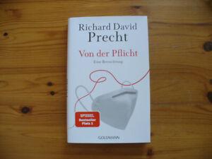 Von der Pflicht - von Richard David Precht - Gebunden