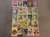 HALL OF FAME Baseball Card Lot 1980-2018 WILLIE MAYS SANDY KOUFAX LOU BROCK
