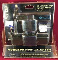1 x Saitek Wireless Controller Adapter SONY PlayStation 2 PS2 NOS!!!