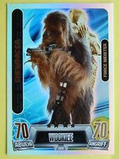 Force Attax Star Wars 2 (2013 grün), Chewbacca (228), Force Meister