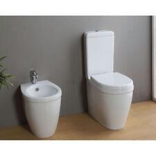 Sanitari Vaso monoblocco + Bidet design Young in Ceramica Bianca