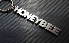 HONEYBEE Honey Love Nickname Keyring Keychain Bespoke Stainless Steel Gift