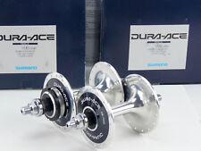 Dura Ace Track Hub set 32h 7600 Pista Vintage Bike 120 NJS lockring Shimano NOS