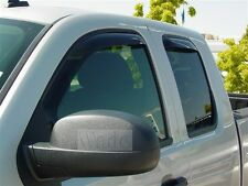 Ford F150 F-150 Super Crew  2009 - 2014 In-Channel Wind Deflector Vent Visor