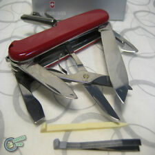 【v14703】Victorinox Swiss Army Knife 91mm Super Tinker 14 Functions Pocket Tool