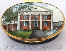 Halcyon Days University Of Virginia Pavilion I Exclusive Enamel Box
