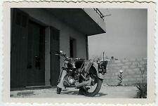 PHOTO ANCIENNE -  MOTO NEW MAP - MOTORCYCLE 1953 - Vintage Snapshot